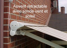 Auvent rétractable Abrigel Concept